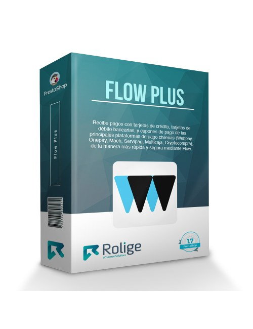 Flow Plus (Webpay, Onepay, Mach, Servipag, Multicaja) Module for PrestaShop