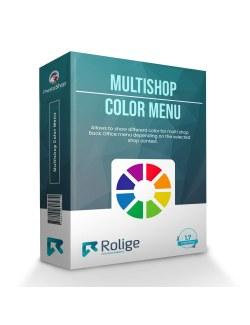 Multishop Color Menu